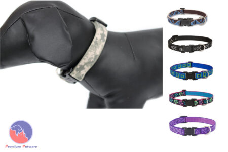 Lupine Originals Adjustable Dog Collars - 25mm