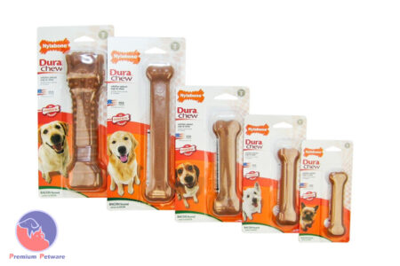Nylabone Dura Chew Bacon Flavoured Bones