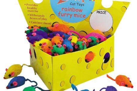 Zanies Rainbow Mice