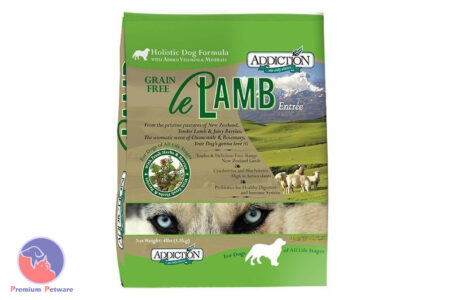 ADDICTION - Le Lamb, 100% Grain-Free Holistic Dog Food