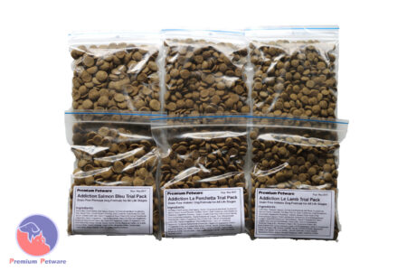 Addiction Dog Food Trial Packs