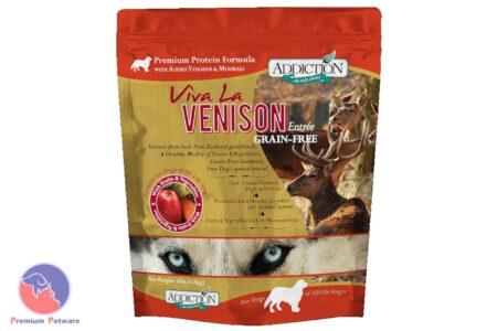 ADDICTION - Viva La Venison, 100% Grain-Free Dog Food