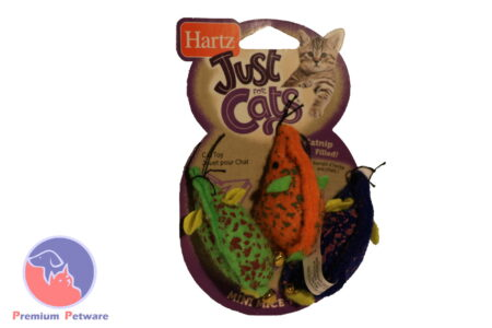 Hartz Mini Mice Trio with Catnip