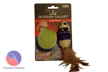 Jackson Galaxy Natural Playtime 2 Piece Set