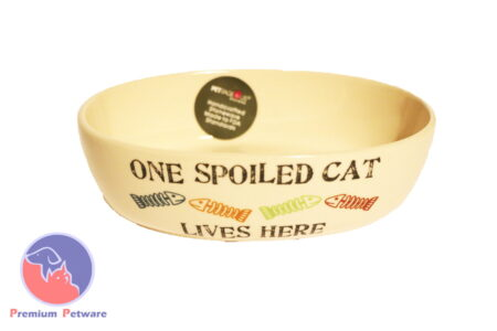 Petrageous One Spoiled Cat Bowl