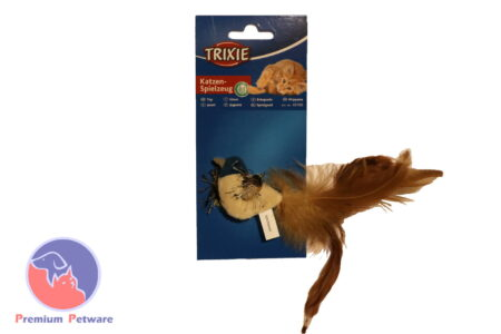Trixie Bird & Feather Catnip Toy