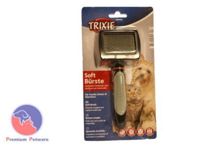 TRIXIE SOFT SLICKER BRUSH