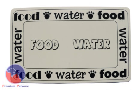 FOOD & WATER PLACEMAT