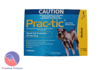 PRAC-TIC FLEA & TICK TREATMENT FOR DOGS