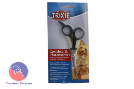 TRIXIE FACE & PAW SCISSORS 9.5cm