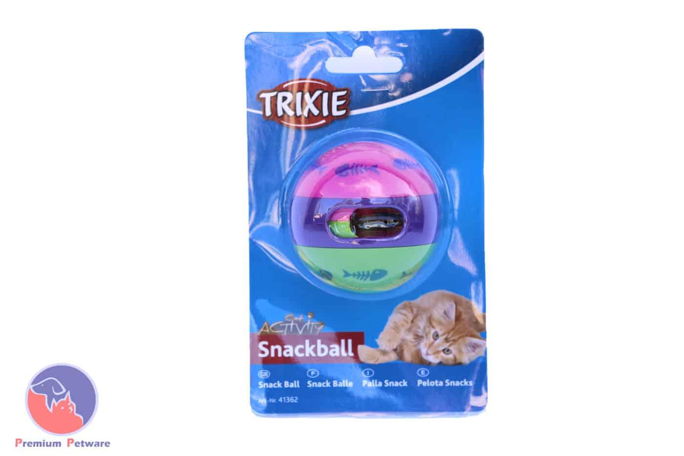 Trixie Activity Snack Ball Treat Dispenser Premium Petware