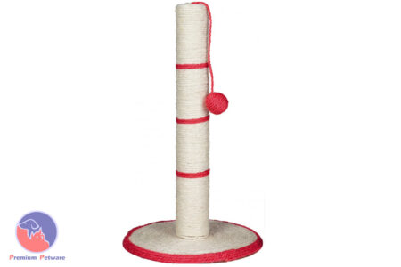TRIXIE CAT SCRATCHING POST - GREEN LEFT