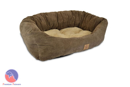 SNOOZZY TAILORED DAYDREAMER PET BED - LARGE 80cm x 63cm