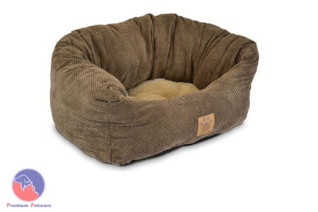 SNOOZZY TAILORED DAYDREAMER PET BED - MEDIUM 65cm x 55cm