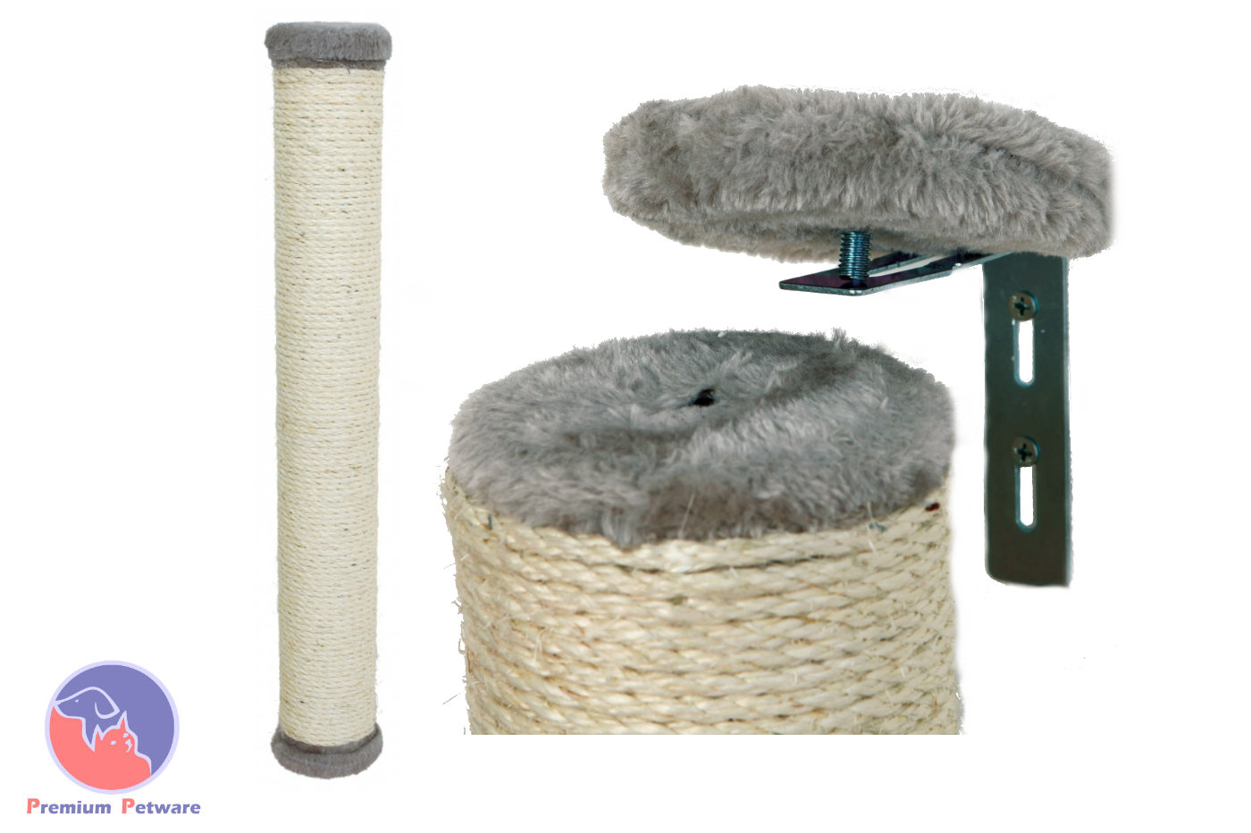 Trixie Wall Mounted Scratching Post 60cm Premium Petware