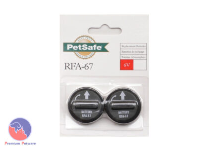 RFA-67 6V BATTERY FOR PETSAFE STD ANTI-BARK COLLAR - 2 PACK