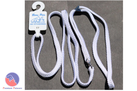 BEAU PETS 7MM FLAT NYLON SHOW LEADS