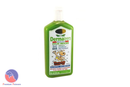 DERMALEEN MEDICATED ITCH WASH 250ML
