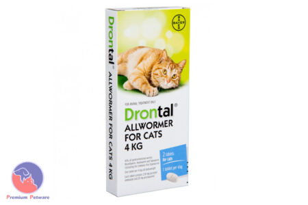 DRONTAL CAT 4kg - ELLIPSOID 2 PACK