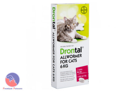 DRONTAL CAT 6kg - ELLIPSOID 2 PACK