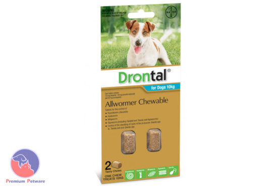 Drontal Chewable Worming Tablets