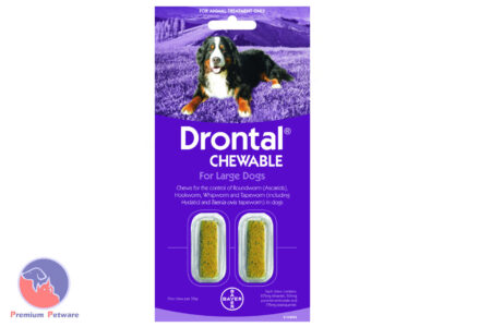 DRONTAL CHEWABLE WORM TREATMENT FOR LARGE DOGS 35kg