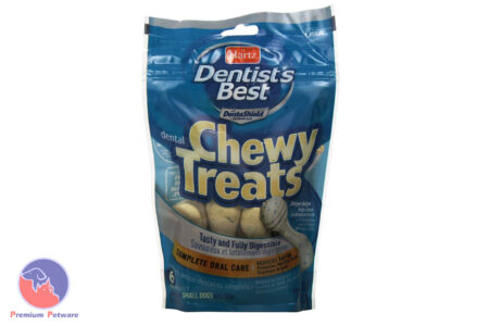HARTZ DENTIST'S BEST CHEWY DUMBELL TREATS - SMALL DOGS