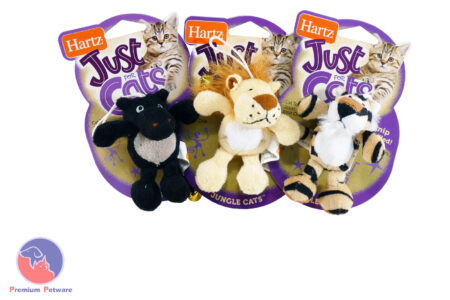 HARTZ JUNGLE CATS CATNIP TOY