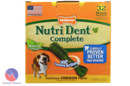 NYLABONE NUTRIDENT COMPLETE DENTAL TREATS