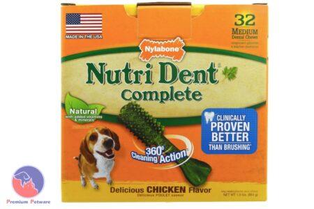 NYLABONE NUTRIDENT COMPLETE DENTAL TREATS