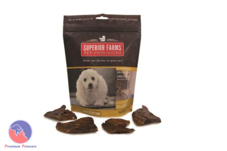SUPERIOR FARMS DOG TREATS - VENISON WAFFLES 85g