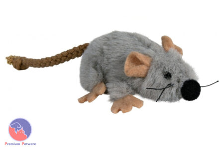 TRIXIE CATNIP MOUSE - GREY