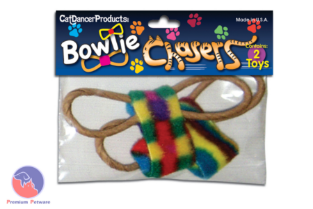 CAT DANCER BOW TIE CHASERS 2PK
