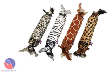 Katz Kickers Safari Cat Toys - 1 Giraffe only