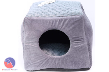 T&T WAITOMO CAT CONVERTIBLE CAVE/BED - GREY