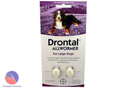 DRONTAL ALL WORMER FOR LARGE DOGS 35kg