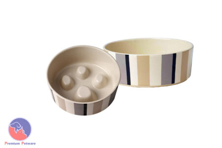 CERAMIC SLOW FEED BOWL