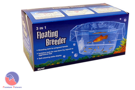 WLPET 3 IN 1 FLOATING BREEDER TANK