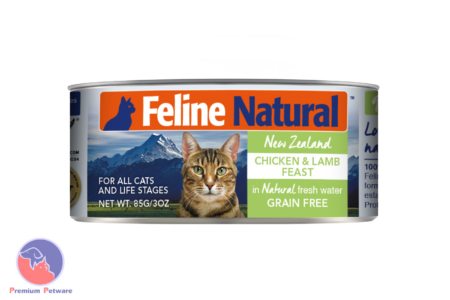 FELINE NATURAL CHICKEN & LAMB FEAST - CANNED