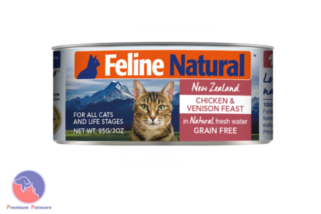 FELINE NATURAL CHICKEN & VENISON FEAST - CANNED