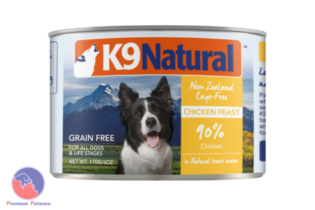 K9 NATURAL CHICKEN FEAST - CANNED