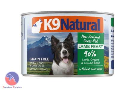 K9 NATURAL LAMB FEAST - CANNED