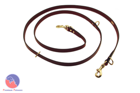 MENDOTA LEATHER 8FT JAEGER LEAD