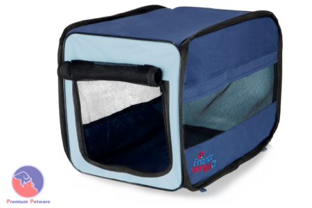 TRIXIE 'TWISTER' MOBILE KENNEL (SOFT CRATE)