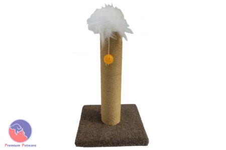 SISAL ROPE CAT SCRATCHING POST - 500mm