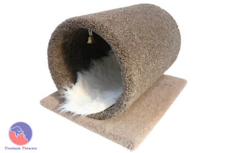 CARPETED CAT TUNNEL BED