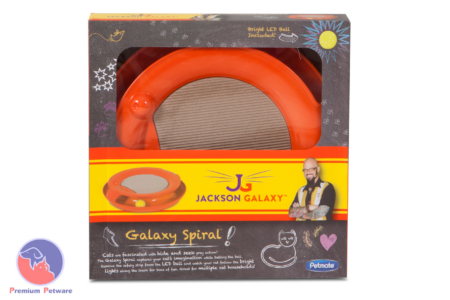 JACKSON GALAXY - GALAXY SPIRAL CAT TOY