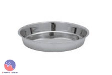 STAINLESS STEEL 20CM PUPPY DISH - 800ml