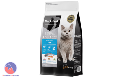 BLACK HAWK ADULT CAT OCEAN FISH FORMULA