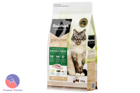 BLACK HAWK ADULT CAT GRAIN FREE CHICKEN & TURKEY FORMULA